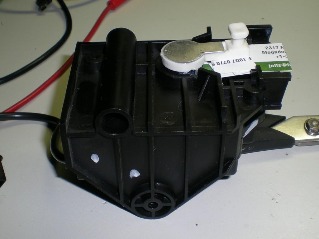 Repaired motor